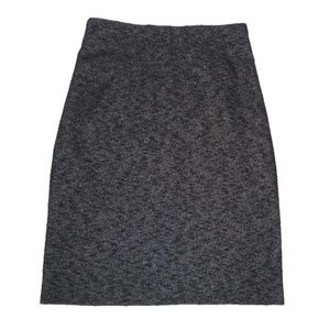 Theory 10 Pencil Skirt Nubby Textured Classic